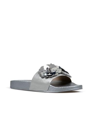 Hammer Jack Gümüş Kadın Terlik / Sandalet 548 2000-Z Gümüş